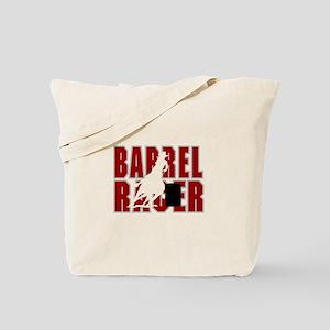BARREL RACER [maroon] Tote Bag